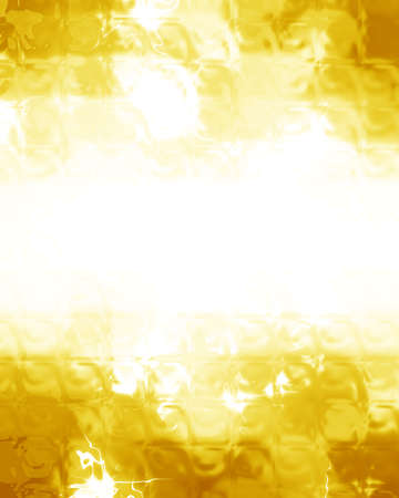highlights: Golden glitters on a soft blurred background with smooth highlights
