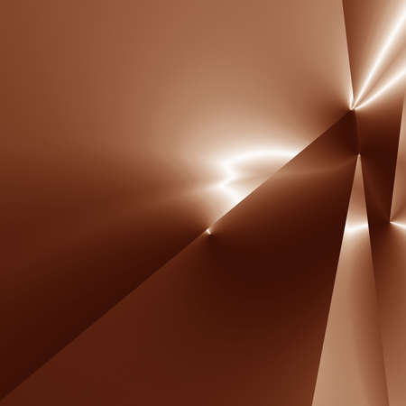 silk background: Chocolate background with some soft lines and highlights Stock Photo