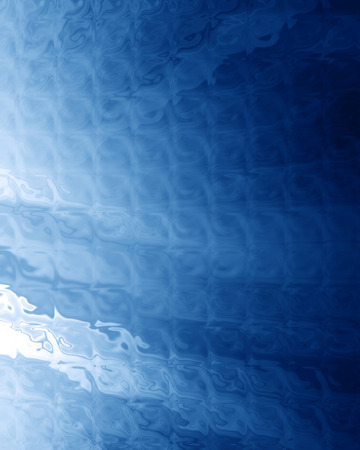 water ripple: abstract blue background with some smooth lines