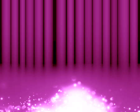famous writer: Pink stage background with an intense pink spotlight