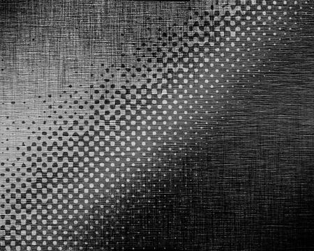 反射した光で金属板を起毛