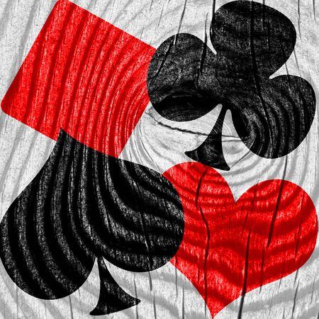 fondo juego de cartas con unas líneas suaves suaves