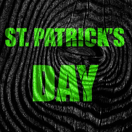 patric: St patricks day background with some smooth lines