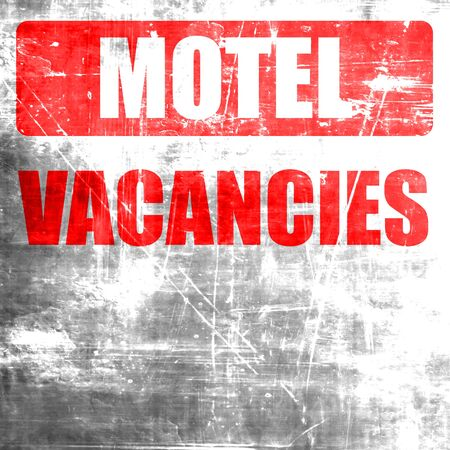 vacant sign: Vacancy sign for motel with some soft glowing highlights