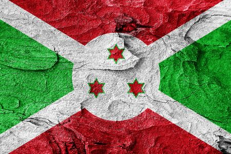 burundi: Burundi flag with some soft highlights and folds