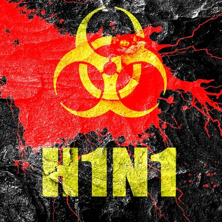 h1n1 vaccination: h1n1 virus concept background with some soft smooth lines