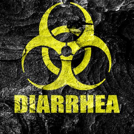 diarrea: La diarrea concepto de fondo con unas líneas suaves suaves Foto de archivo