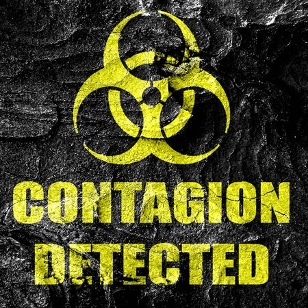 contagion: contagion concept background with some soft smooth lines