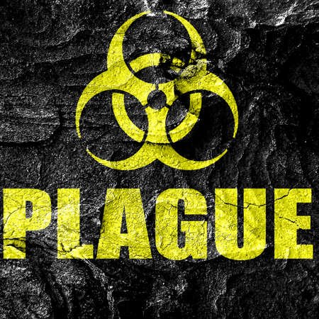 plague: plague concept background with some soft smooth lines Stock Photo