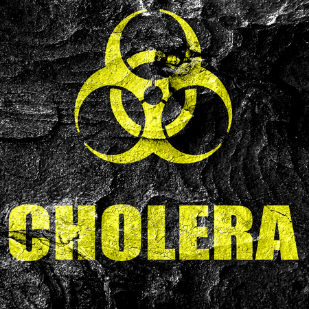 cholera: Cholera concept background with some soft smooth lines