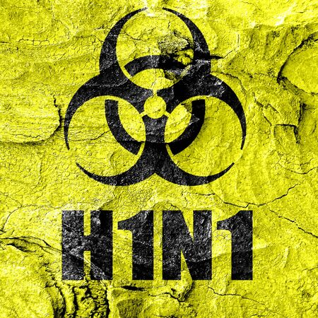 h1n1 vaccine: h1n1 virus concept background with some soft smooth lines