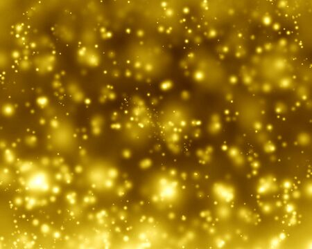 Glittering gold background with some smooth lights and sparkles