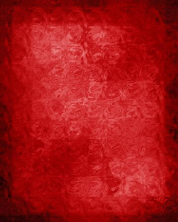 worn: red background with a worn touch on it
