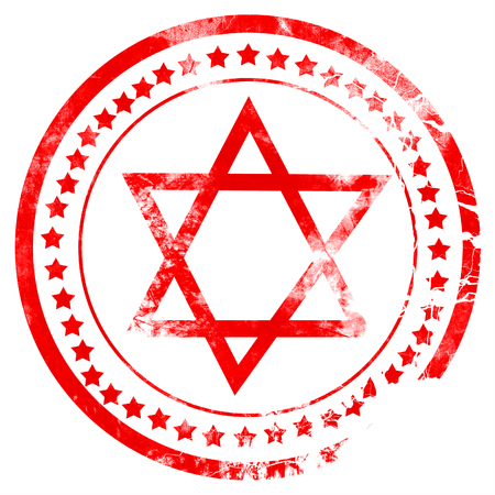hannukah: Star of david with some soft flowing lines
