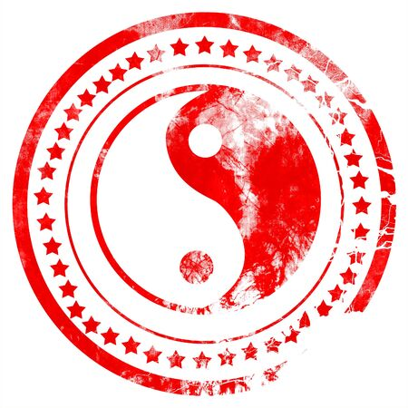 daoism: Ying yang symbol with some soft smooth lines
