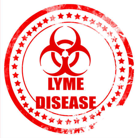 lyme: Lyme virus concept background with some soft smooth lines