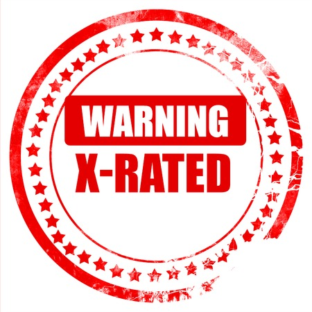 x rated: X-rated sign with some nice vivid colors
