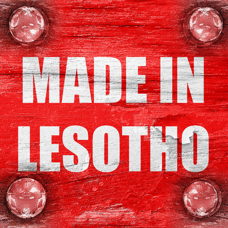 lesotho: Made in lesotho with some soft smooth lines