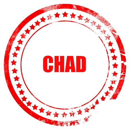 chad: Greetings from chad card with some soft highlights Stock Photo