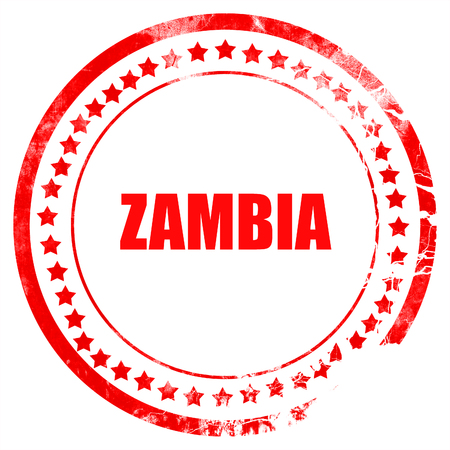 zambia: Greetings from zambia card with some soft highlights