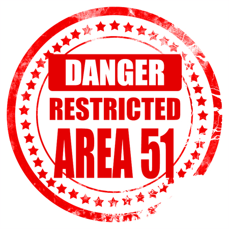 area 51: area 51 sign with some soft flowing lines