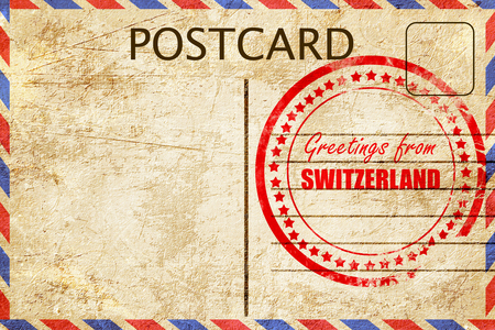 Greetings from switzerland card with some soft highlights stock greetings from switzerland card with some soft highlights stock photo 53784834 m4hsunfo