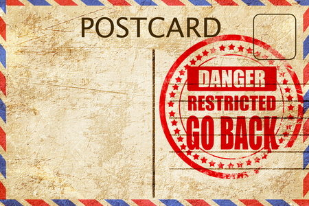 go back: Go back sign with some smooth lines