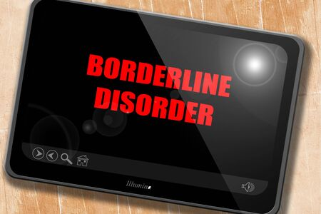 borderline: Borderline sign background with some soft smooth lines