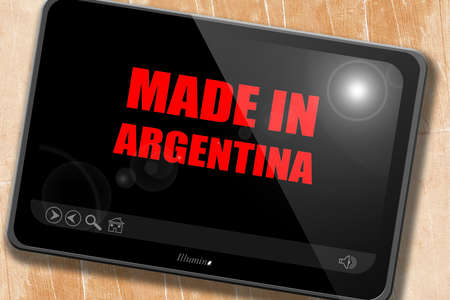 argentine: Made in argentine with some soft smooth lines