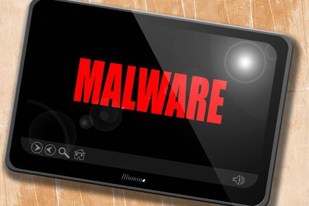 bad service: Malware removal background with some soft smooth lines