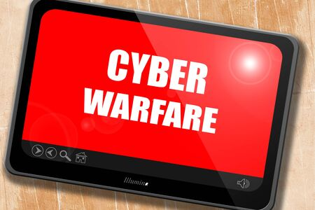 cyber warfare: Cyber warfare background with some smooth lines
