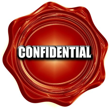 confidentiality: confidential sign background with some soft smooth lines