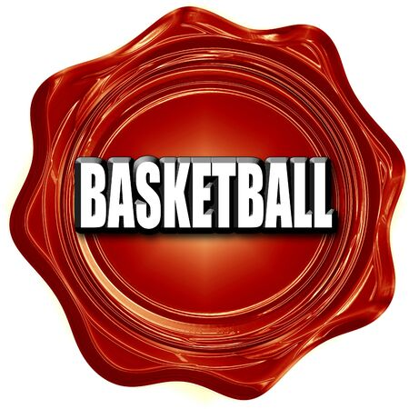 international basketball: basketball sign background with some soft smooth lines Stock Photo