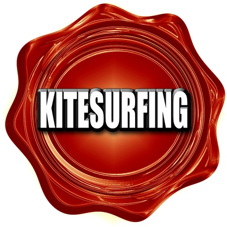 kite surf: kitesurfing sign background with some soft smooth lines
