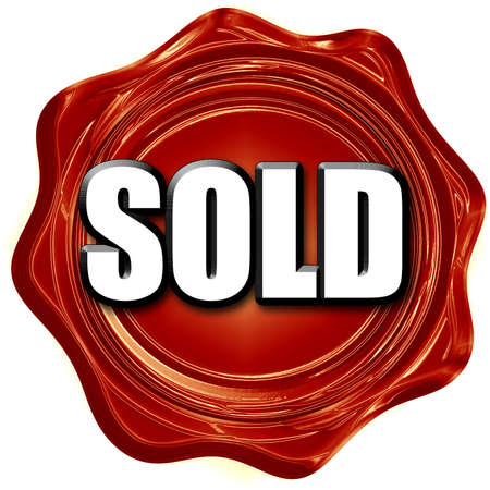 sold sign: sold sign background with some soft smooth lines