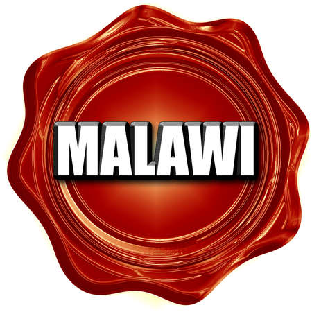 malawi: Greetings from malawi card with some soft highlights