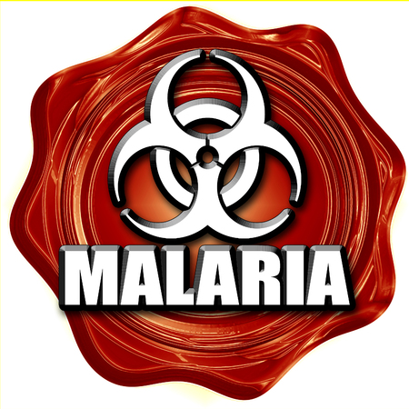 malaria: malaria concept background with some soft smooth lines