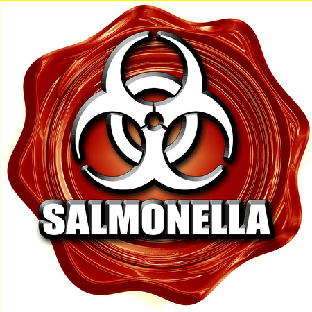 salmonella: Salmonella concept background with some soft smooth lines Stock Photo