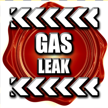 leak: Gas leak background with some smooth lines