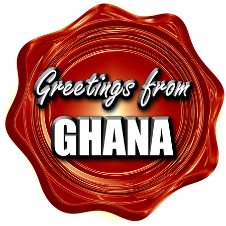 Greetings from ghana card with some soft highlights stock photo greetings from ghana card with some soft highlights stock photo 54092632 m4hsunfo