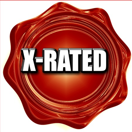 x rated: Xrated sign with some nice vivid colors