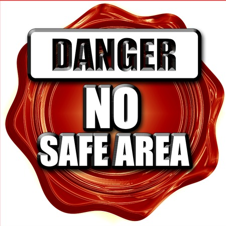 no nuclear: apocalypse danger background on a grunge background Stock Photo