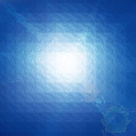 fondos azules: un fondo azul abstracto con algunas líneas suaves Foto de archivo