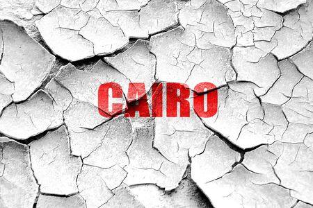 cairo: Grunge cracked cairo