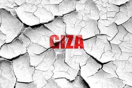 giza: Grunge cracked giza