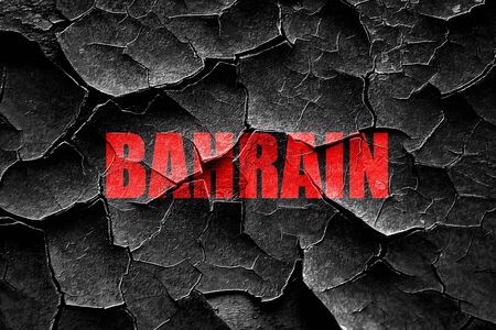 bahrain: Grunge cracked Greetings from  bahrain card with some soft highlights