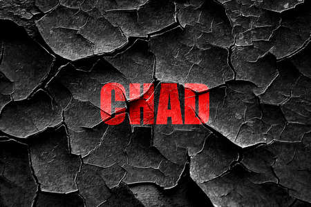 chad: Grunge cracked Greetings from chad card with some soft highlights