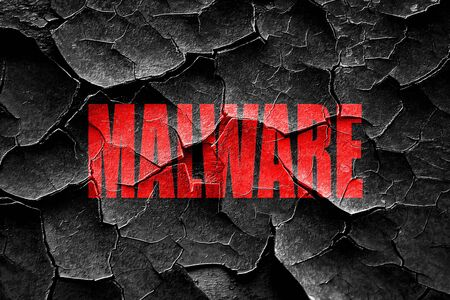 grungy email: Grunge cracked Malware removal background with some soft smooth lines