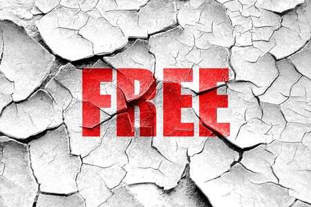 freebie: Grunge cracked free sign background with some soft smooth lines