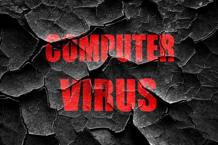 grungy email: Grunge cracked Virus removal background with some soft smooth lines Stock Photo